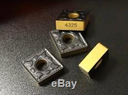 100pcs 10pack CNMG 432-PM CNMG120408-PM Grade 4325 lathe Turning Carbide Inserts