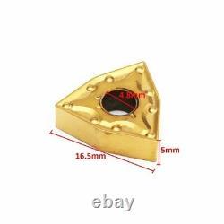 10pcs WNMG080404 Carbide Inserts Blades For Lathe Turning Tool Holder
