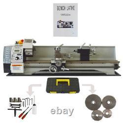 110V 900W 8X31 Metal Bench Lathe Mini Precision Wood Lathe Turning Machine