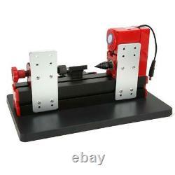 12V DIY Mini Wood-Turning Lathe High Speed Woodworking Machine Lathe 100-240V