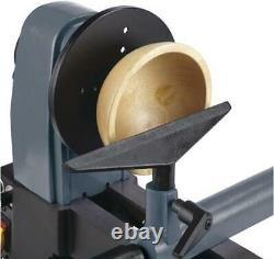 12 Mini Wood Lathe Variable Speed Motor 3500 RPM Corded Large Turn Capacity