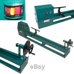 14 x 40 Power Wood Turning Lathe 1/2 HP 4 Speed Power