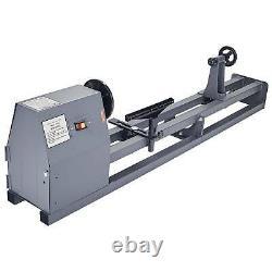 1/2HP 4 Speed 1100/1600/2300/3400 RPM Wood Turning Lathe 14 x 40 Wood Work
