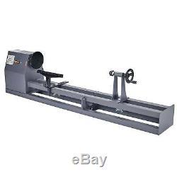 1/2HP Wood Turning Lathe 14 x 40 Wood Work 4 Speed 1100/1600/2300/3400 RPM