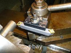 1/2 All in One Turning Tool Bit for Lathe's with 2 Inserts