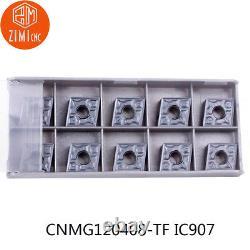 200PC CNMG432 CNMG120408 TF IC907 carbide Insert lathe turning tool cutting tool