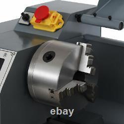 2250rpm Mini Lathe Machine for Turning Cutting Drilling Threading Metal 8x16