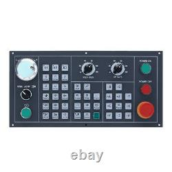 2 axis CNC lathe controller usb absolute type servo control for turning machine