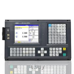 2 axis cnc lathe&turning control panel cnc wire edm controller absolute servo