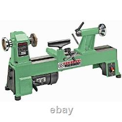 3200 RPM 5-Speed 1/2 HP (10 x 18 Work-Project) Benchtop Turning Wood-Lathe