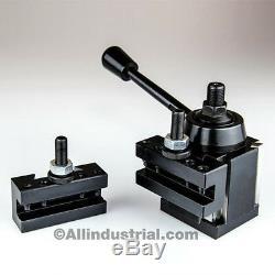 3 Pc Axa Wedge Tool Post Intro Set Cnc Turning, Facing, & Boring Lathe Holders