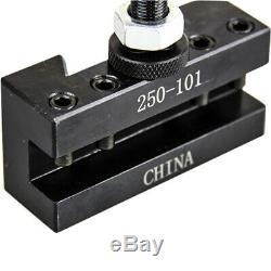 4 Pc Axa Wedge Tool Post Intro Set Cnc Turning, Facing, & Boring Lathe Holders