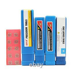 4pc 12mm Lathe Boring Turning Tool Holder SCLCR/L09 SCMCN +10 CCMT09T304 Inserts