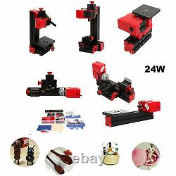 6in1 Jigsaw Grinder Driller Lathe Milling Sawing Drilling Turning Machine N3I5
