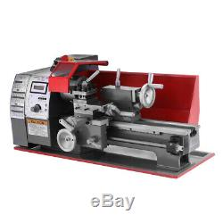 7''x12'' Mini Metal Turning Lathe Woodworking Tool Cutter Wood Drilling Milling