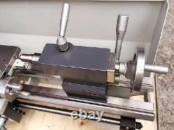 7x12 Metal Inch Thread Bench Lathe Mini DIY Turning Lathe 110V Brushless Motor