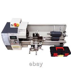 8x16 Precision Inch Thread Metal Lathe Brushless Motor Bench Turning Machine