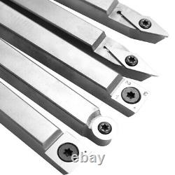 Alloy Steel Lathe Wood Turning Tool Carbide Insert Wrench Cutter Woodworking Kit