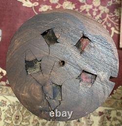 Beautiful BLACK WALNUT ROOT Wood Turning Blank /Bowl, BURLS /Wood Block, Lathe