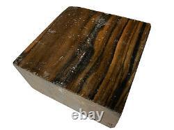Beautiful PALEMOON EBONY Turning Wood Bowl Blank Lathe 8 x 8 x 4-1/4