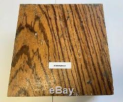 Beautiful Zebrawood Turning Wood Bowl Blank Lathe 8 X 8 X 4 Rare size