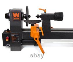 Benchtop Wood Lathe 8 in. X 12 in. Variable Speed Turning Woodworking Home Shop