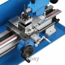 Blue Mini Lathe Metal Digital CJ18A Turning Milling 7''x14'' +Accessory Package