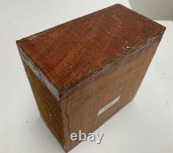 Bowl Wood Bubinga Turning Wood Bowl Blank Lathe 8 X 8 X 3 Free Shipping