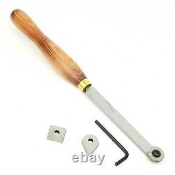 Crown Tools UK 268W High Speed Steel Wood Turning Lathe Multi-Tip Scraper