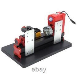 DIY Mini Wood Metal Motorized Lathe Machine Woodworking Turning Tool Kit DC12V