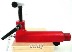 Deluxe 12 Wood Lathe Tool Rest Base + Cam Lock + Straight Tool Rest Turning New