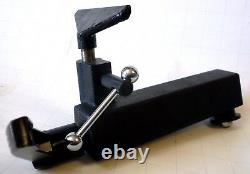 Deluxe 8 Wood Lathe Tool Rest Base + Eccentric Lock + 4-3/8 Rest Turning New