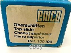 Emco Unimat 3 Mini Lathe Top Slide for Taper Turning Ref #150190