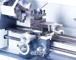 Intbuying 7X12 Metal Bench Lathe Mini Precision Wood Lathe Turning Machine