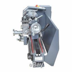 Intbuying 8X31 Metal Bench Lathe Mini Precision Wood Lathe Turning Machine