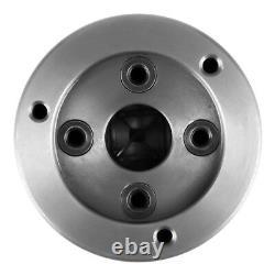 K72-80 4-Jaw Independent & Reversible Jaw Metal Lathe Chuck Turn Machine G/