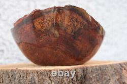 Mango Wood hand made lathe turned bow