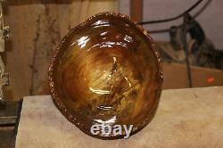 Medium Size, Chinese Tallow Crotch Bowl, Hand Made, Lathe Turned