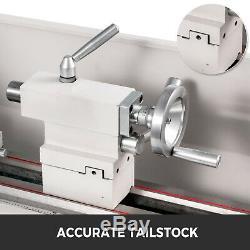 Metal Lathe Mini Lathe 8.7x29.5 1.1KW for Counter Face Turning Driling