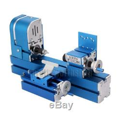 Metal Mini Wood-turning Lathe Woodworking Power Tool Machine for Student DIY