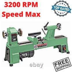 Mini Benchtop Wood Turning Lathe Variable Speed 1/2 HP Woodworking Machine Tool