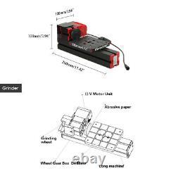 Mini DIY 6 in 1 Metal Motorized Transformer Machine Wood Lathe Turning Tool S5A5