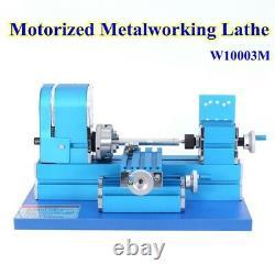 Mini Hobby DIY Turning Lathe Motorized Metalworking Machine for Wood Sofa Metal
