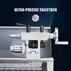 Mini Lathe Machine 2500rpm for Turning Cutting Drilling Threading Metal 8x14in