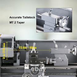 Mini Metal Lathe 8.7x23.6 1.1KW Counter Face Turning Driling Brushless Motor