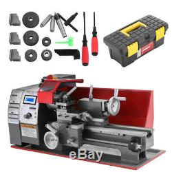 Mini Metal Turning Lathe Woodworking Tool Cutter Drilling Milling High Quality