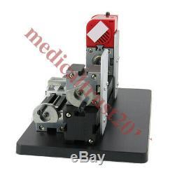 Mini Wood Metal Motorized Lathe Machine Woodworking Turning DIY Tool 35mmX135mm