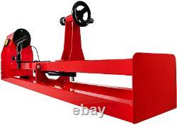 Mophorn Wood Lathe 14 x 40, Power Wood Turning Lathe 1/2HP 4 Speed 1100/1600/2