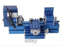 NO VAT Mini Turning Lathe Machine Motorized Metalworking DIY Tool Soft Metal