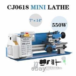 Package Milling Mini Lathe Accessory Turning Metal Blue 7x14 Digital CJ18A